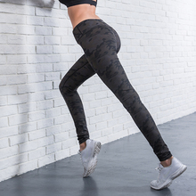 Tech Fabric Hot Camouflage Womens Fitness Apparel Sexy Girls Tights Custom Sports Leggings