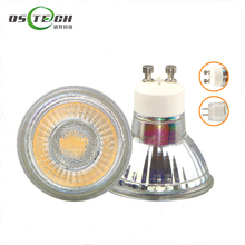 Dimmable LED Spotlights GU10 GU5.3 MR16 220V led light 120 degree gu10 spotlight glass body gu10 mr16 lamp bulb