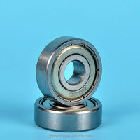 carbon steel wheelbarrow bearing 625ZZ, 626ZZ 608ZZ OEM service