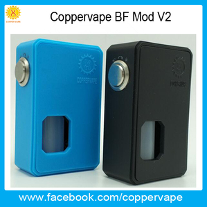 New Coppervape bf mod v2 full mechanical mod very easy to refill 10ml bf mod v2 in stock now !!