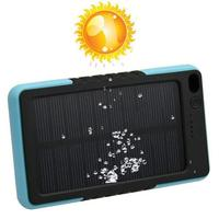 2015 New Arrival Waterproof Solar Charger 8000mah Solar Power Bank External Battery for smartphone /ipad/camera/iPhone/Samsung