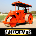 Low Price 3- Wheel Road Roller for Used in Road Construction