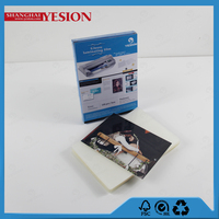 Yesion 2015 Hot Sales! Hot selling 100mic Badge Laminating Pouches In Plastic Film, A4 Glossy Photo Laminating Pouch Film