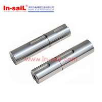 China supplier CNC service precision stainless steel short shaft Machining production manufacturer