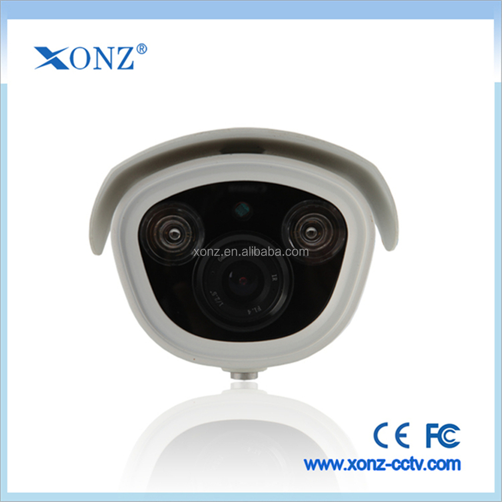 AAC Compression, Two-way voice speaking HI3516C cmos 2.0 megapixel with bracket waterproof network camera
