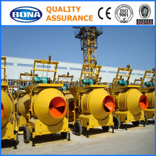 portable concrete pan mixer with lift for Philippines market