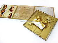 Wedding Invitation - Metal Wire Square Casing Invitation