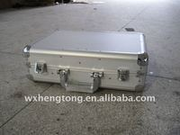 aluminum tool case with tool pallets for different tools