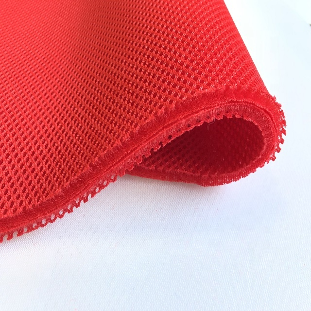 SMILE Factory Price 100 Polyester Soft Breathable <strong>Material</strong> 3D Air Spacer Mesh Stretch Fabrics Pro For Car Seat