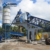 Manufacturer price 25m3 mini wet mix compact small portable mobile concrete batching plant