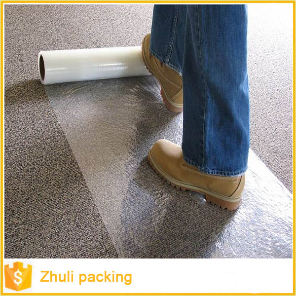 PVC transparent self-adhesive cold laminating film different types of plastic wrap
