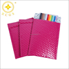 High Quality pink Shiny Metallic bubble envelope Aluminium foil Metallic bubble mailers for postal packing