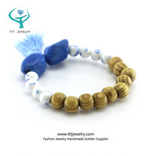 Custom Personlized Wholesale Stretch Beaded Bracelet