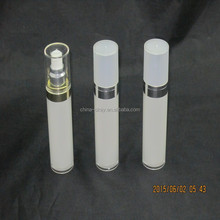 30ml/50ml acrylic double layer plastic airless pump bottle (1.oz)