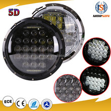 New Jeep wrangler accessories led head lights Hi/Low 7 Inch Led Headlight 105W SUV led 7 inch off-road