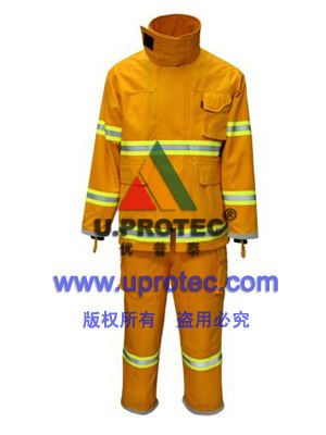 Nomex-Kevlar Fire Combat Suit, EN469, NFPA1971 Standards