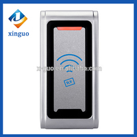 The Latest Waterproof metal door access control card cheap price smart chip card reader