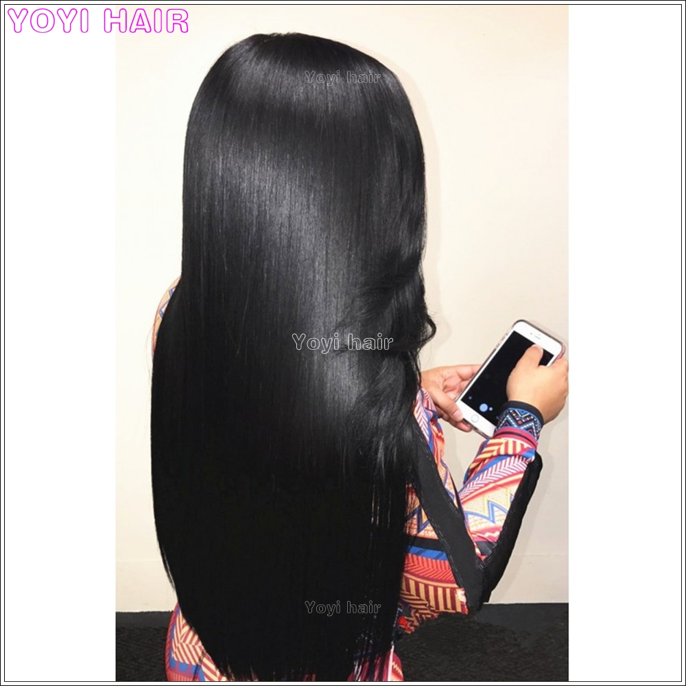Factory direct selling Virgin natural straight peruvian smooth hair weaving spiral ponytail ,fashion yaki hairpiece