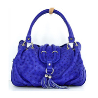 Genuine Ostrich Leather Handbag Luxury Leather ladies Handbag Wholesale Fashion Genuine Leather Handbags Made in China