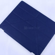 2013 hot sale flip leather smart cover case for ipad air case