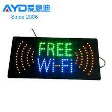 Foshan Produce High Bright Flashing Animated Custom LED Light Box Logo Sign LED Signboard