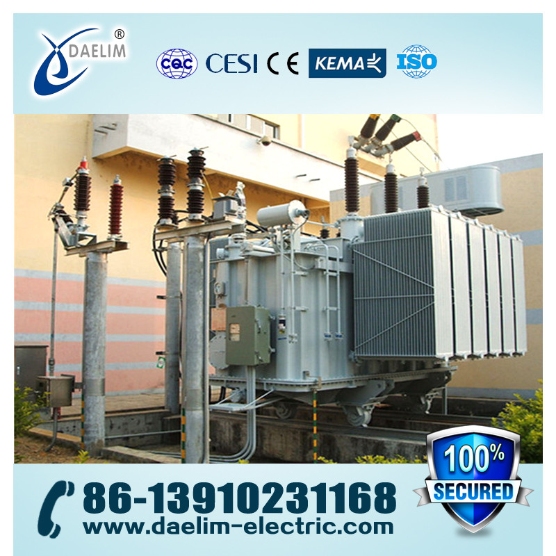 On Load Tap Changer with Copper Wire 66kv Voltage Transformer