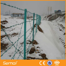 Wholesale Decorative Cheap Galvanized&Plastic Fence For Barb Wire(SGS Certified Factory)