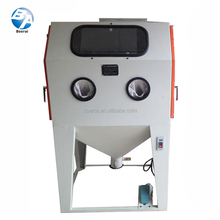 Dry type industrial China sandblasting cabinet
