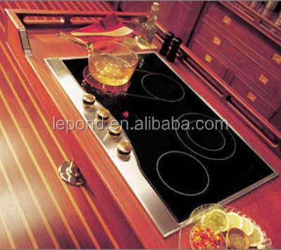 Heating Borosilicate Glass/ Pyrex Glass/Anti Infrared Glass for electromagnetic oven