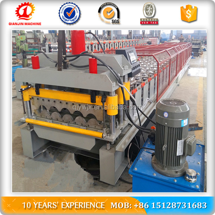 United Kingdom 1000 Type Glazed Roof Tile Roll Forming Machine