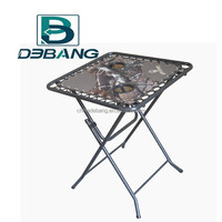 Folding Camping Table With Two Cup Holders