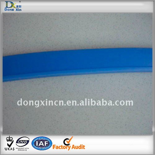 blue or color food grade silicone rubber sealing strip