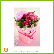 Alibaba china high quality cardboard gift packaging boxes for flowers