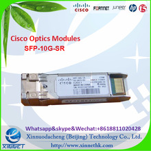 Telecommunication Fiber Optic Transceiver Original Cisco SFP-10G-SR SFP module single mode