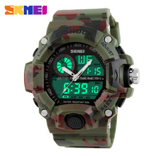 Military army green sport watches