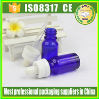 Medical use mini glass vial 20ml clear glass dropper bottle