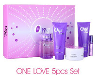 ONE LOVE 5PCS SET PERFUME, HOT SALE GIFT SET PERFUME