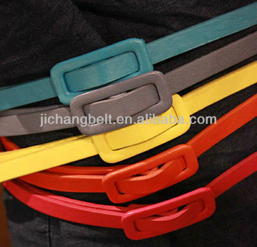 Wrap buckle Magnetic leather belt