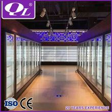 Supermarket Milk Display Freezer Wall Showcase mini refrigerator for medicine