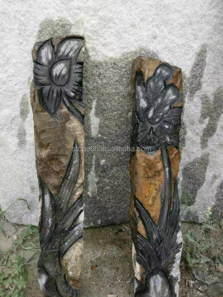 wholesale natural basalt raw column pillar