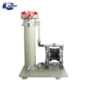 PP Pneumatic Diaphragm Industrial Water Pump for waste water filtration