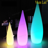 battery rechargeable cordless led floor lamp
