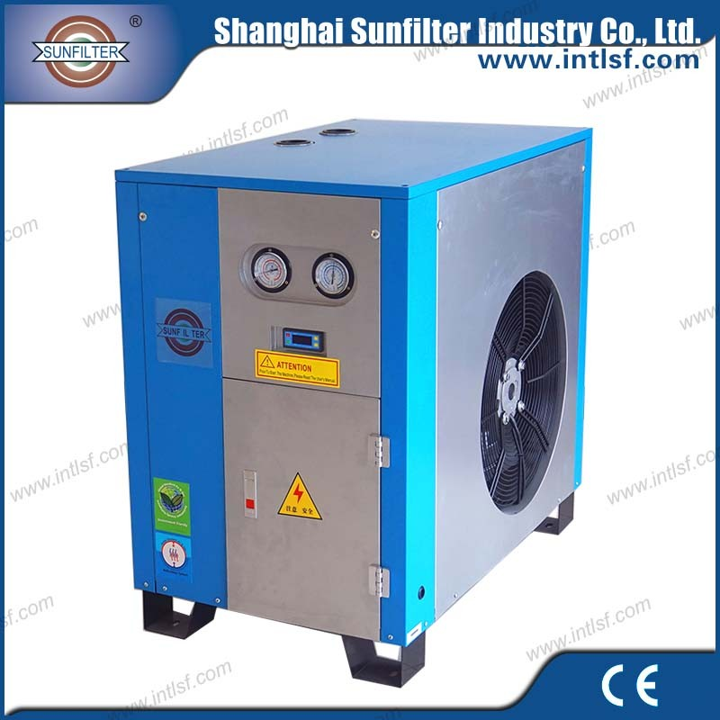 Air compressor industrial washing machines sale with refrigerated air dryer and air pump for lake China supplier