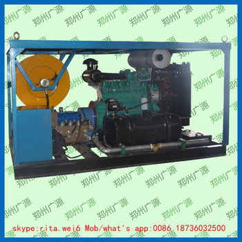 high pressure sewer and drain cleaning machine high pressure cleaner 170 l/min coal mine special