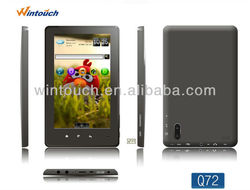 WINTOUCH Q72 3G SIM / 3G phone call /bluetooth 7'' 800*480, Android 4.0, Allwinner A10 1.0-1.5Ghz 512 DDR3