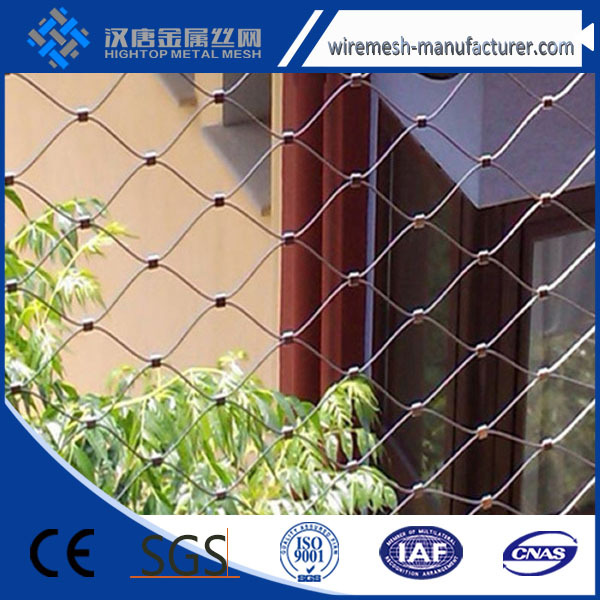 Stainless Steel Cable Wire Netting <strong>Mesh</strong> / Zoo <strong>Mesh</strong>