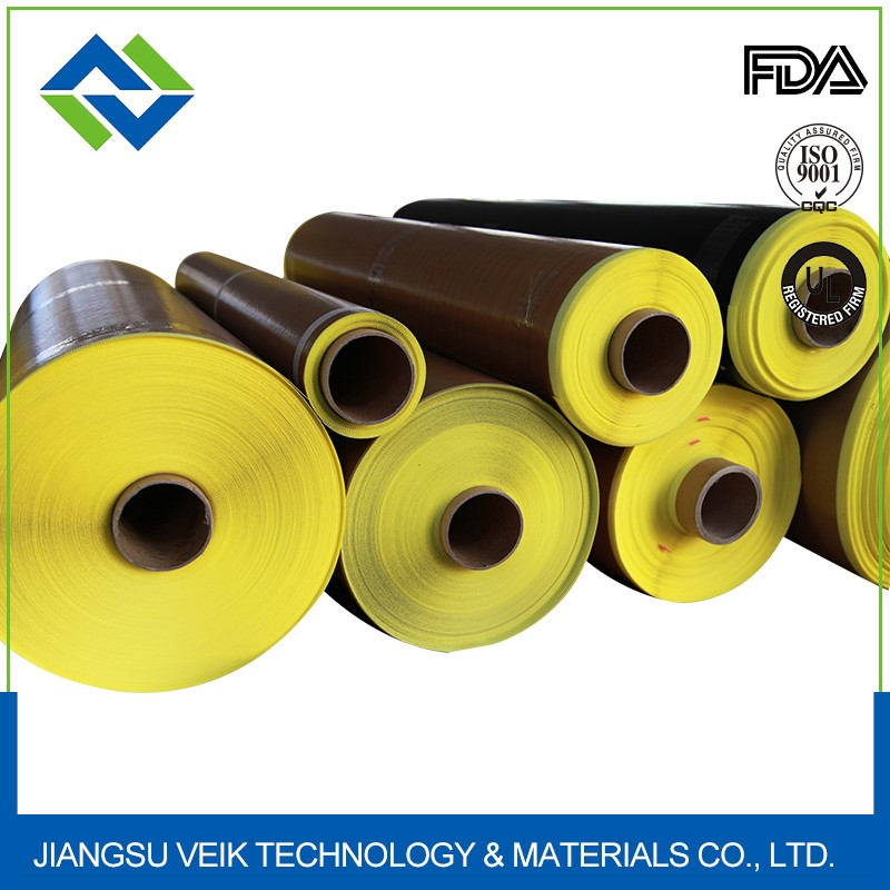 Non-stick quick delivery PTFE coated fabric adhesive tapes