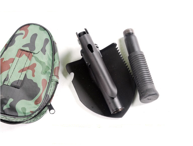 High Quality Hot Selling Steel Functional Survival Tool Folding Camping Shovel