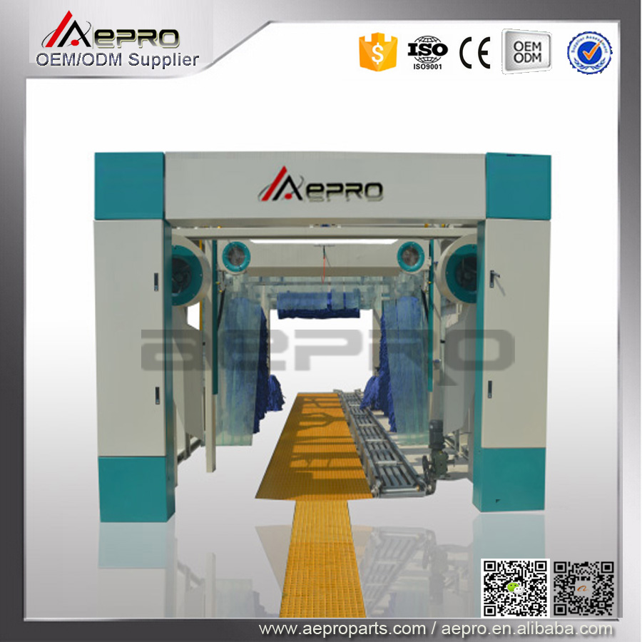 Germany technology CE car wash machine fully automatic and fully automatic tunnel car wash equipment with price