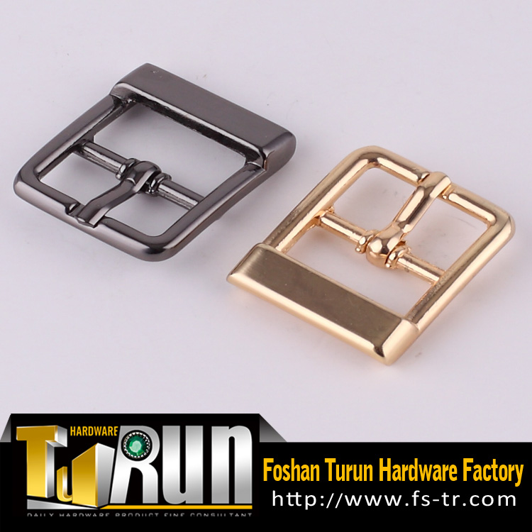 Hot sale light gold metal garment buckle for accessories
